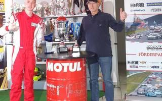 Rolf Krepschik beim erfolgreichen Juniorensieger 2020