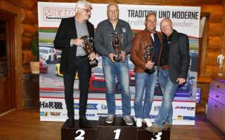 Sieger der Klassikwertung 2017 Jörg Lorenz Johannes Kreuer und Joachim Duscher