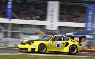 Eine gute Premiere im Turbo Porsche für Daniel Behringer