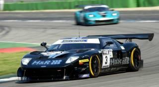 Jürgen Alzen (Ford GT) siegte im ersten Rennen