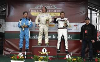 Jürgen Bender (Mitte) fuhr zum zweiten Sieg
