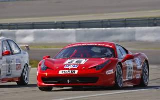 Andreas Ott fuhr im Ferrari erst sein zweites Autorennen