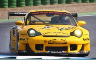Rüdiger Klos setzte den GT2 Porsche einige Zeit in der STT ein