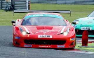 Andreas König sorgte für den ersten Ferrari Sieg in der STT