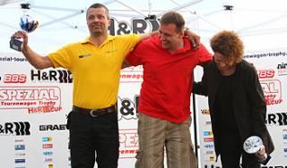 Die V8 STAR Klasse mit Jörg Bernhard, Sven Fisch und Petra Kolic-Wiese