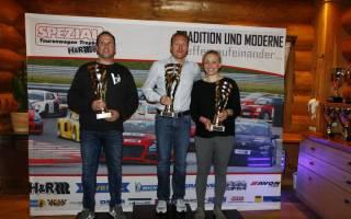 Die Sieger der Division 2 Ralf Glatzel René Freisberg und Victoria Froß