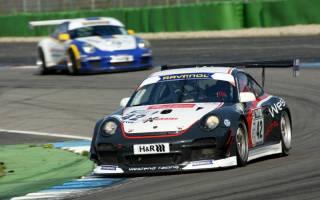 Jorma Vanhanen im Porsche 997 GT3 Cup siegte in der Klasse 3