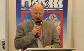 Serienorganisator Rolf Krepschik